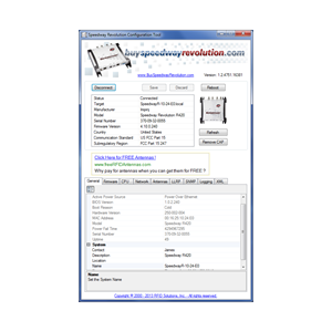 Speedway Reader and RFID Gateway Configuration Tool